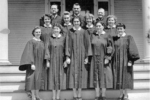 monticello choir 1950