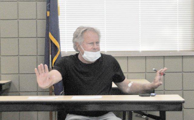 Tom Cornford at Sept 16 Finance Committee meeting