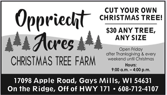 Oppriecht Acres Tree Farm