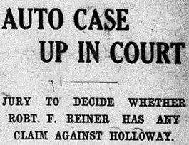 1909 headline