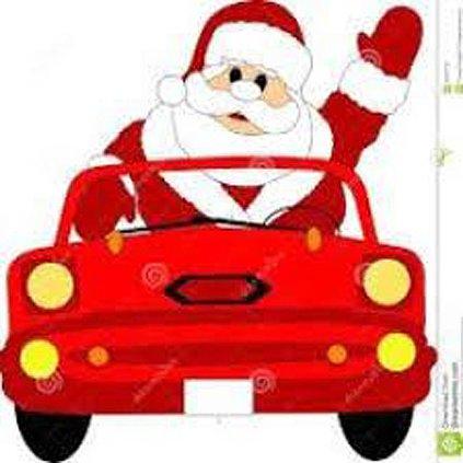 Curbside Santa