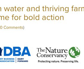 Orgs support conservation profitable farming