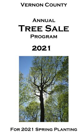 Vernon County 2021 Tree Sale