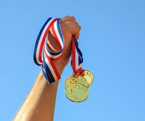 medal award special olympics