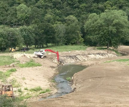 Citron Creek restoration