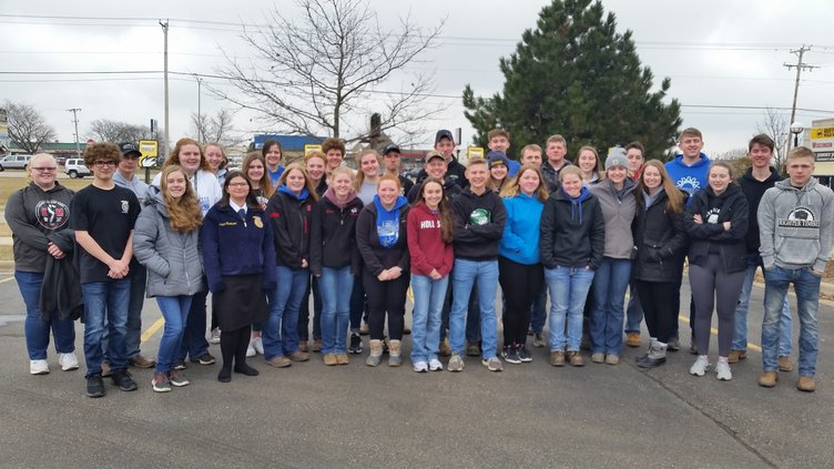 monticello ffa large group