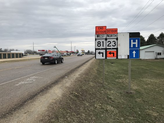 hwy 23 construction