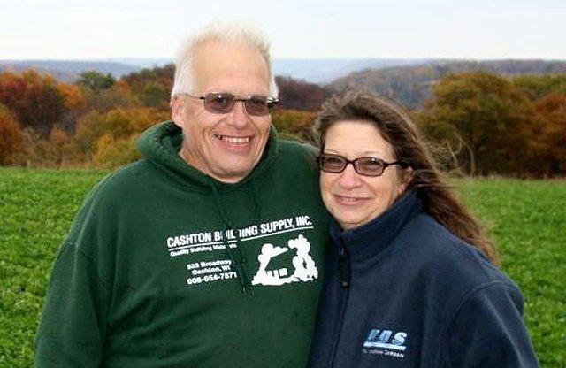 Jack Herricks and wife