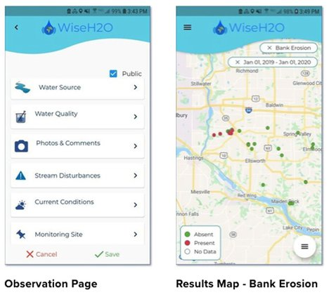 Wise H2O mobile app