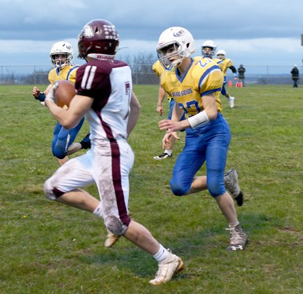SWS loses to Necedah spring football