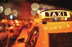 taxi cab stock