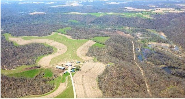 Roth Feeder Pig II aerial view of site