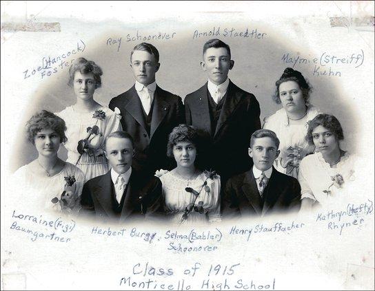 monticello class of 1915