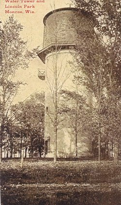 Lincoln Park water tower