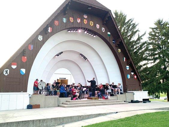 city band bandshell