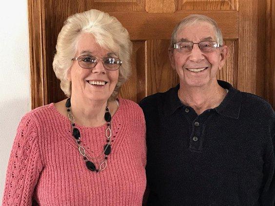 Elmer and Evelyn (Cull) Olmstead