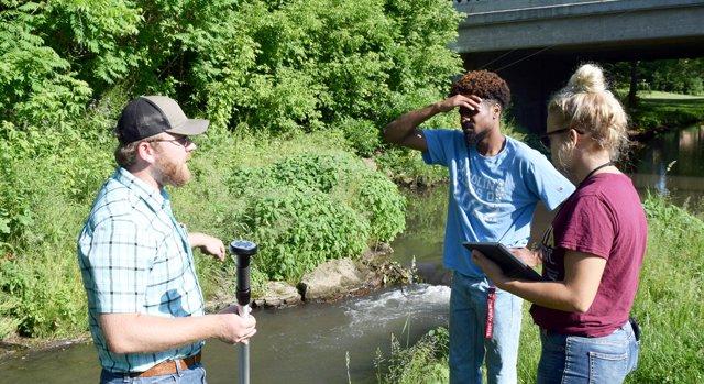 Monroe County summer interns