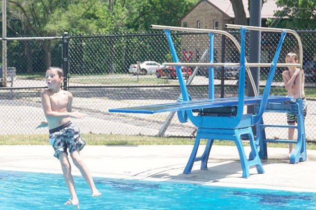 Muscoda swimming pool