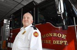 Monroe Fire Chief Dan Smits