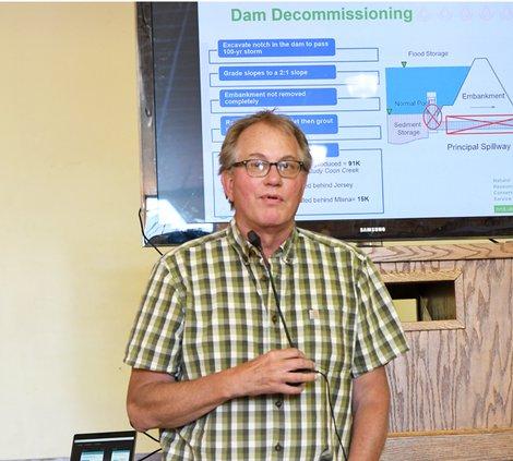 Geotechnical Engineer Tim Haakenstad
