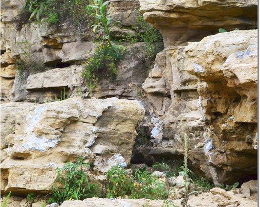 Fractured karst geology