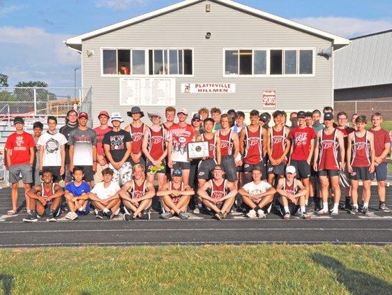 Platteville boys SWC champs