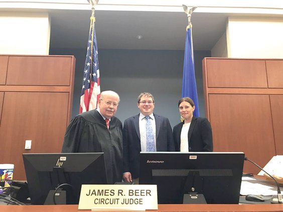 Beer, Spreitzer and Phillipson at Justice Center
