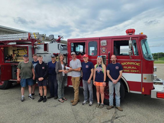 GC Ag Chest donates to Monroe Rural Fire