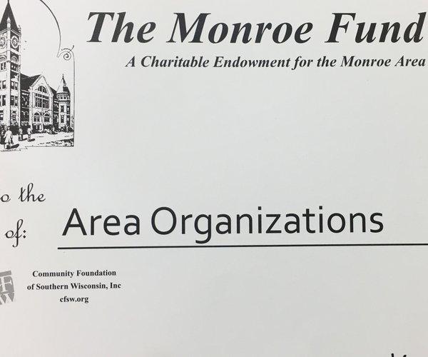 Monroe Fund Check