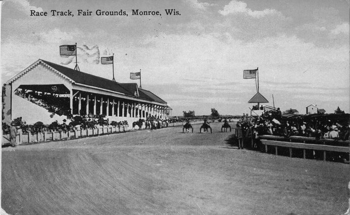 Race Track, Green County fairgrounds