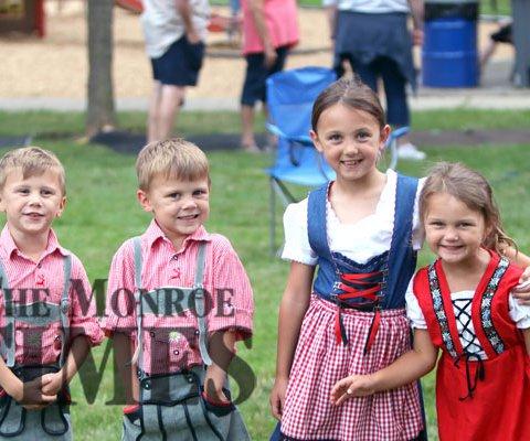 kids at NEW GLARUS 175 +1