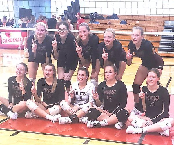 Potosi volleyball team