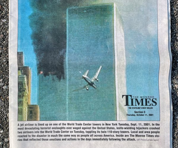 Monroe Times 9/11 Special Section, Oct. 11, 2001