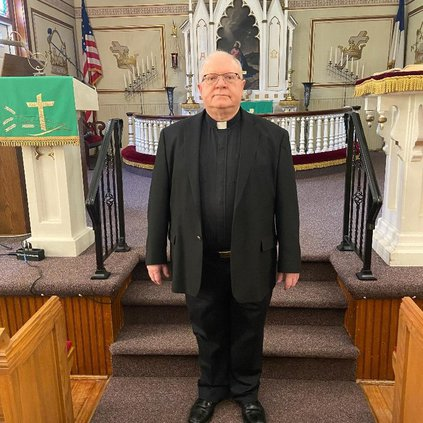 Rev. Doctor L.G. Glenn Jordan Evangelical Lutheran Church interim pastor