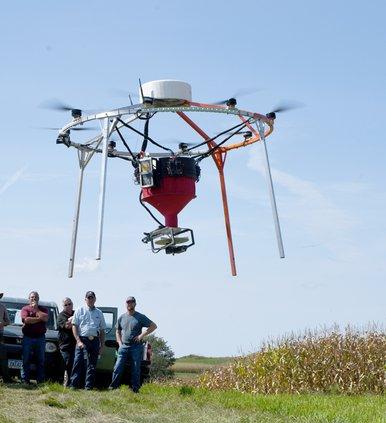 AeroSeeder demonstration