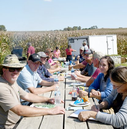 TCWC_Drone Seeder lunch