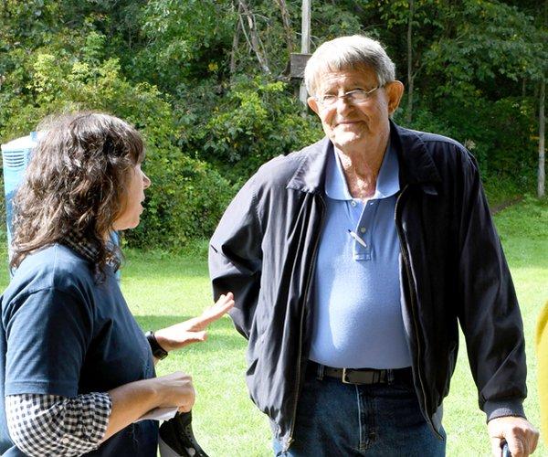 Dr. Stanley Trimble and Monique Hassman