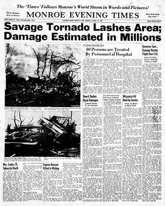 1965 Palm Sunday Tornado