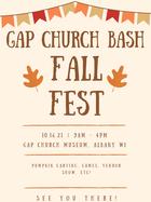 gap church festival bash